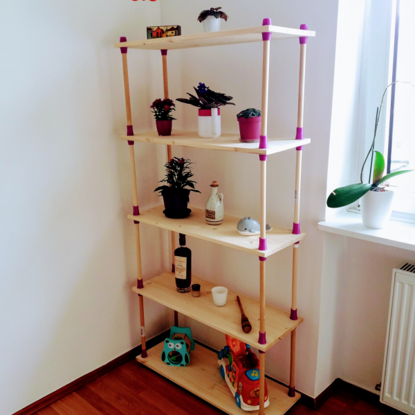 3D Printable Shelving System