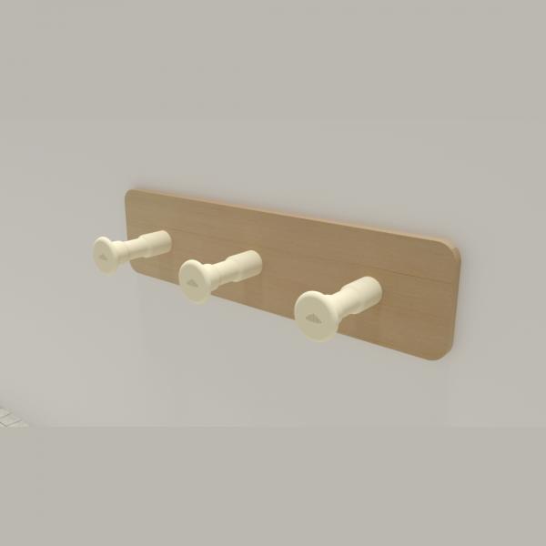 3D Printable Towel Hanger
