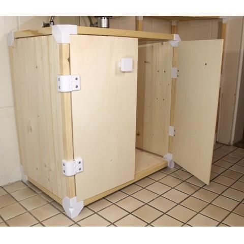Modular Furniture Connector Kit