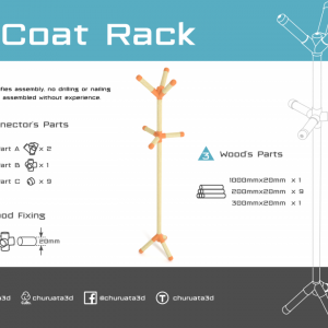 Customizable Coat Rack System