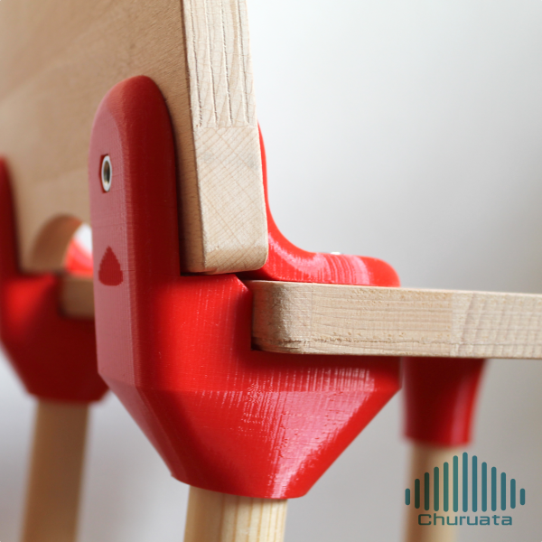 3D Printable Children's Chair